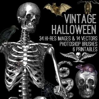 Awesome Vintage Halloween Kit! TGF Premium