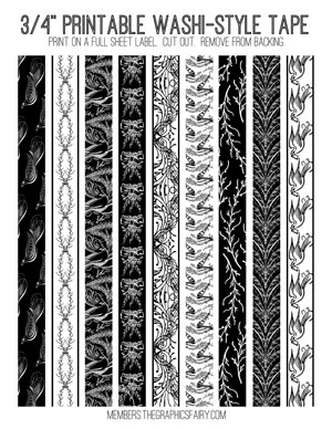 washi_tape_bw_spencerian_graphicsfairy