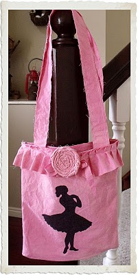 11 - Arce French Heart - Ballerina Tote Bag