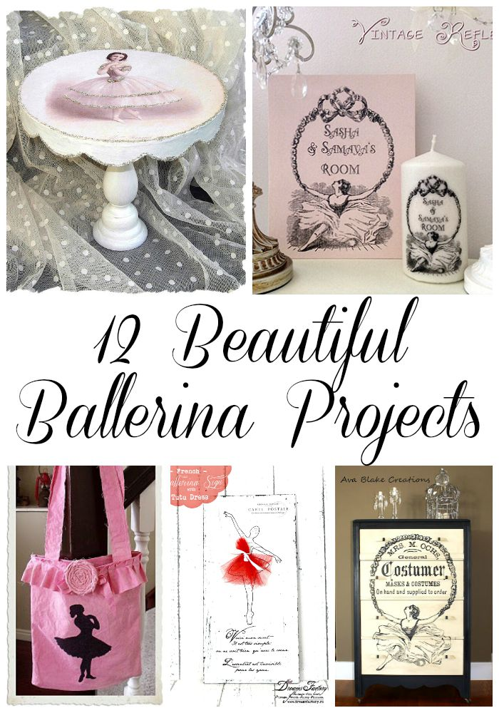 12 Beautiful Ballerina Projects
