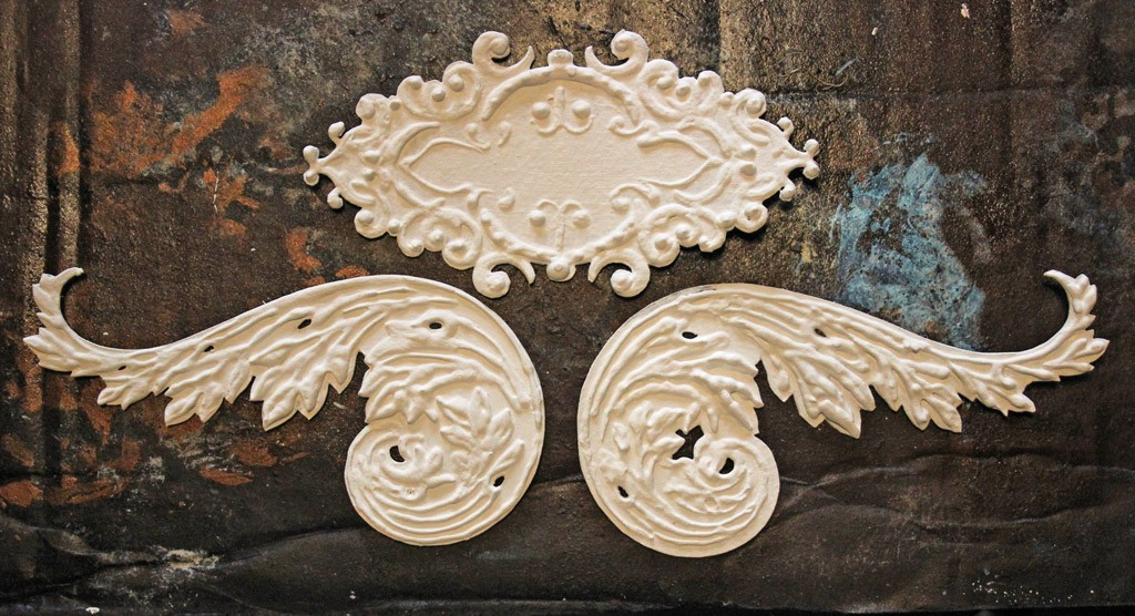 faux antique embellishments