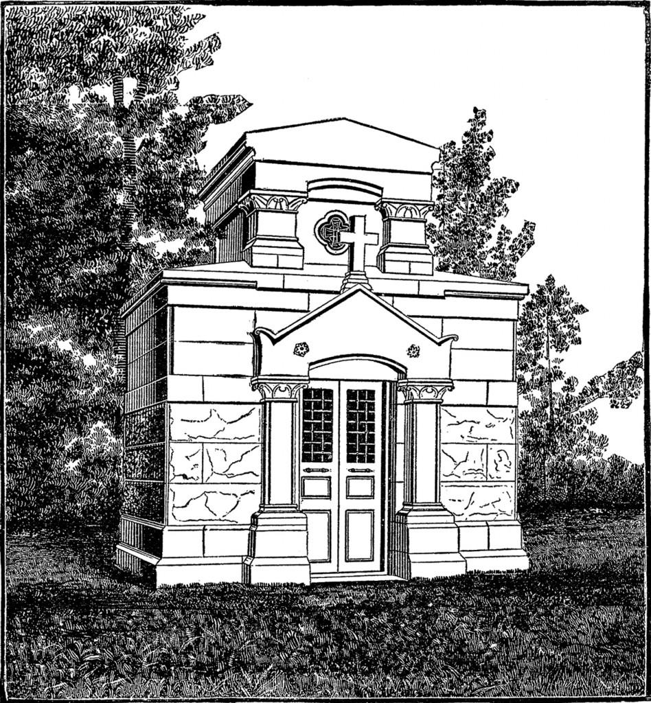 Free Mausoleum Clip Art Image