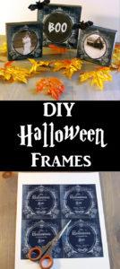 Halloween Frames Craft Project