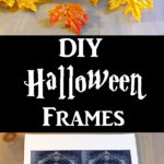 Halloween Frames Craft Project