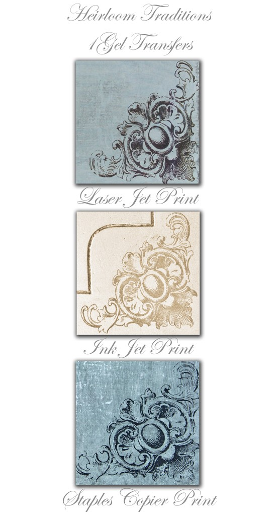 1Gel Transfer Medium, Heirloom Traditions, Heather Tracy, Thicketworks, The Graphics Fairy