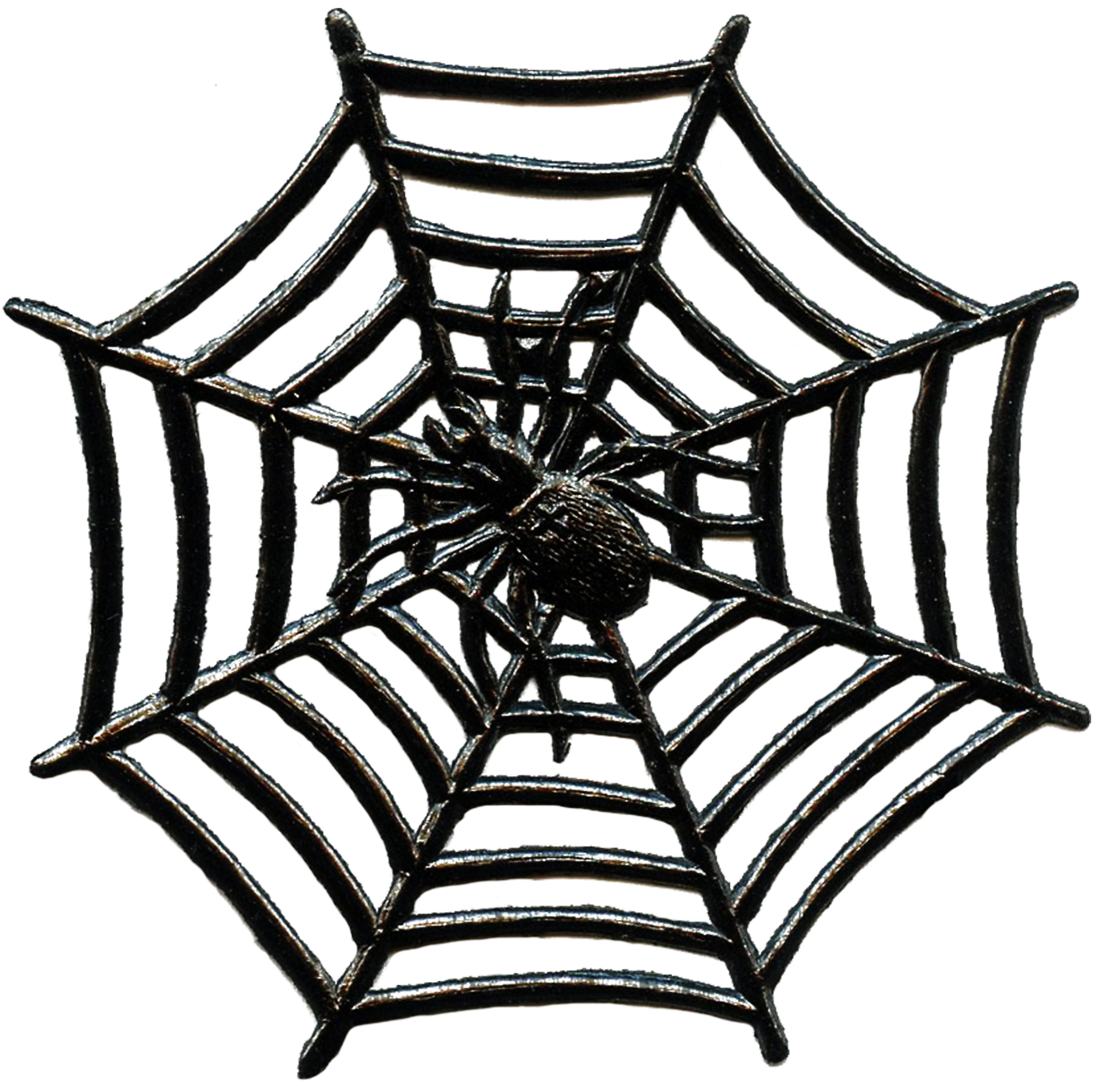 vintage halloween spider image with web the graphics fairy