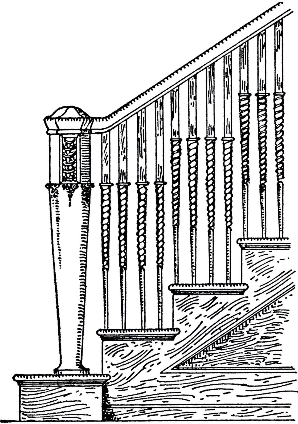 Vintage Staircase Image The
