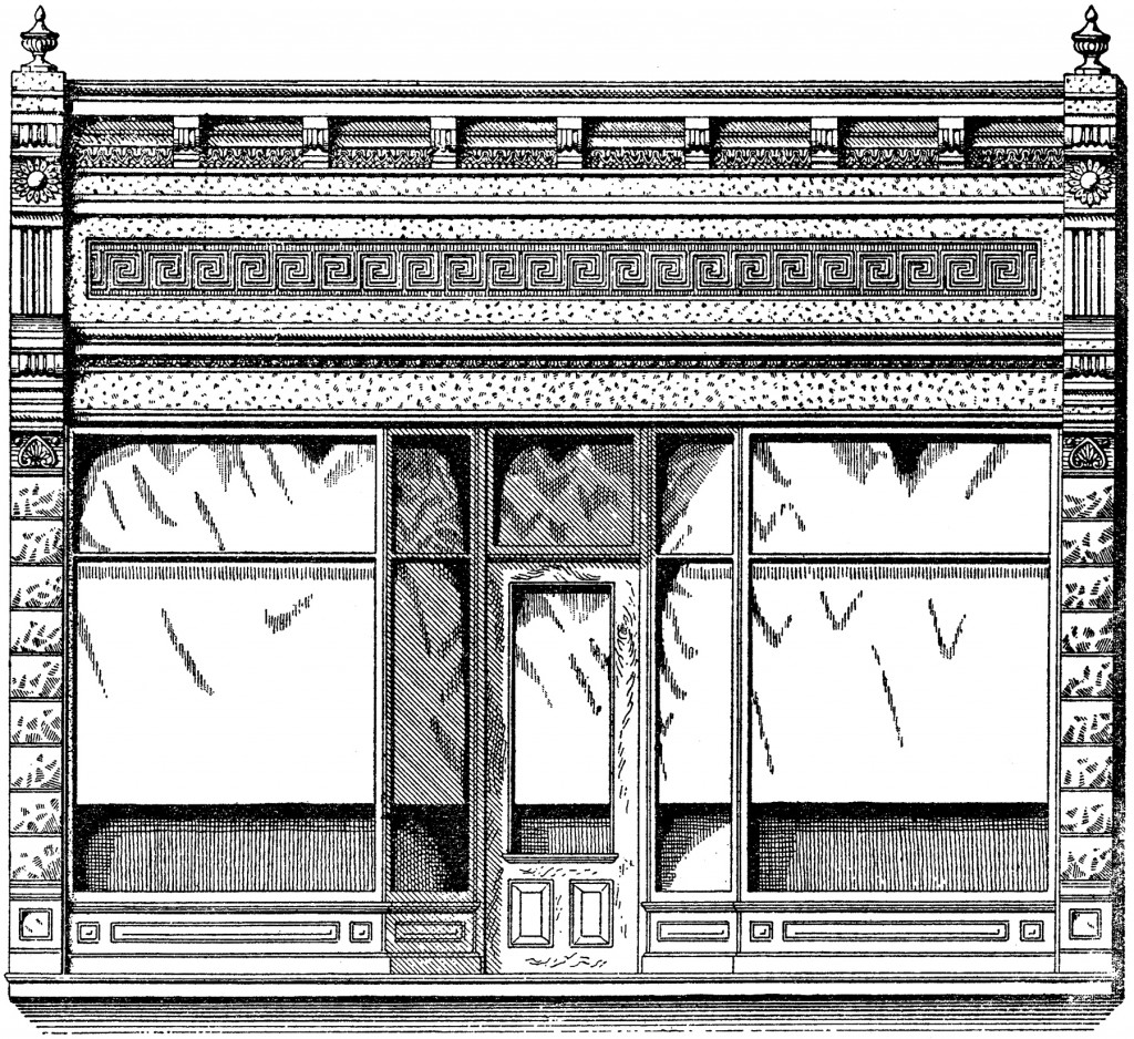 Vintage Store Front Image! - The Graphics Fairy