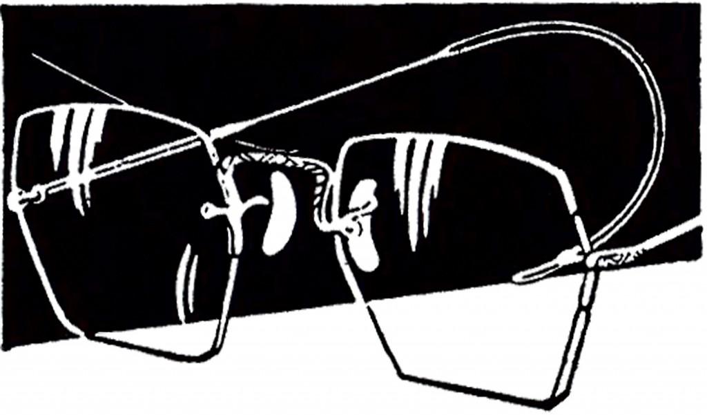 Vintage Wire Glasses Image