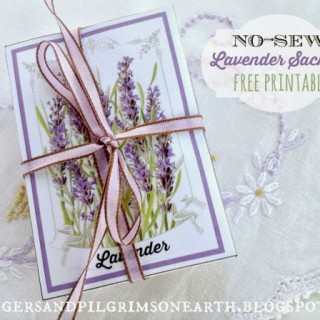 No Sew Lavender Drawer Sachets – Reader Feature