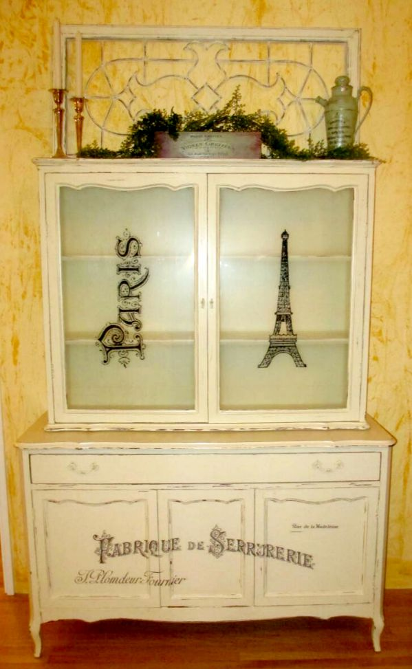 Diy French China Cabinet Reader Feature The Graphics Fairy