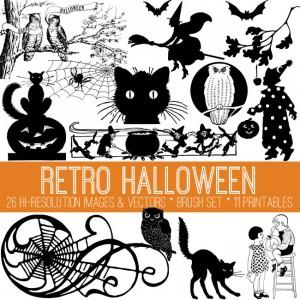 Retro Halloween Kit