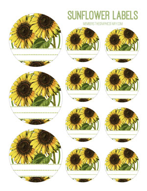 sunflower_circle_labels_graphicsfairy
