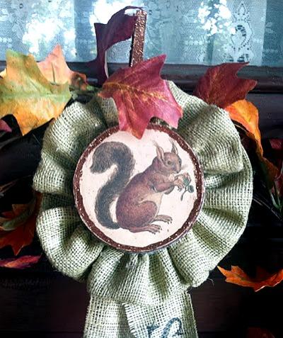 14 - Pollyanna Reinvents - Squirrel Badge