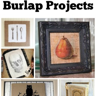 14 Burlap Projects