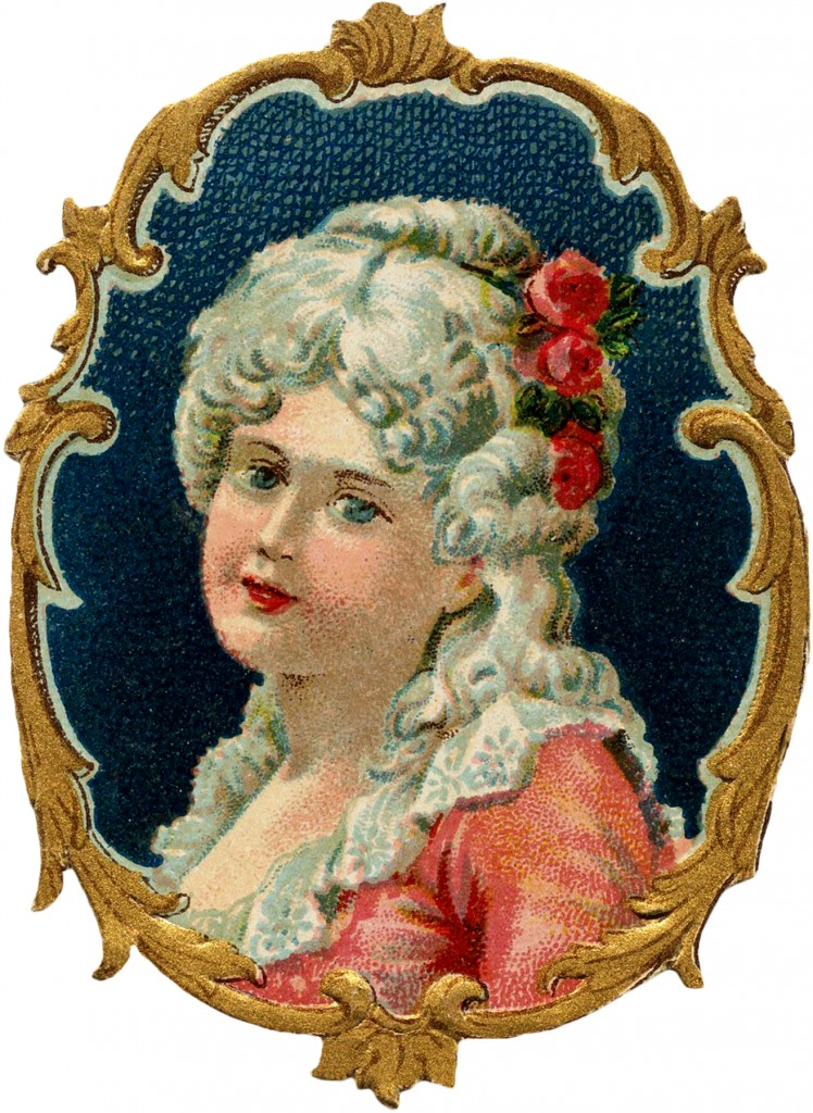 Colonial Girl Image