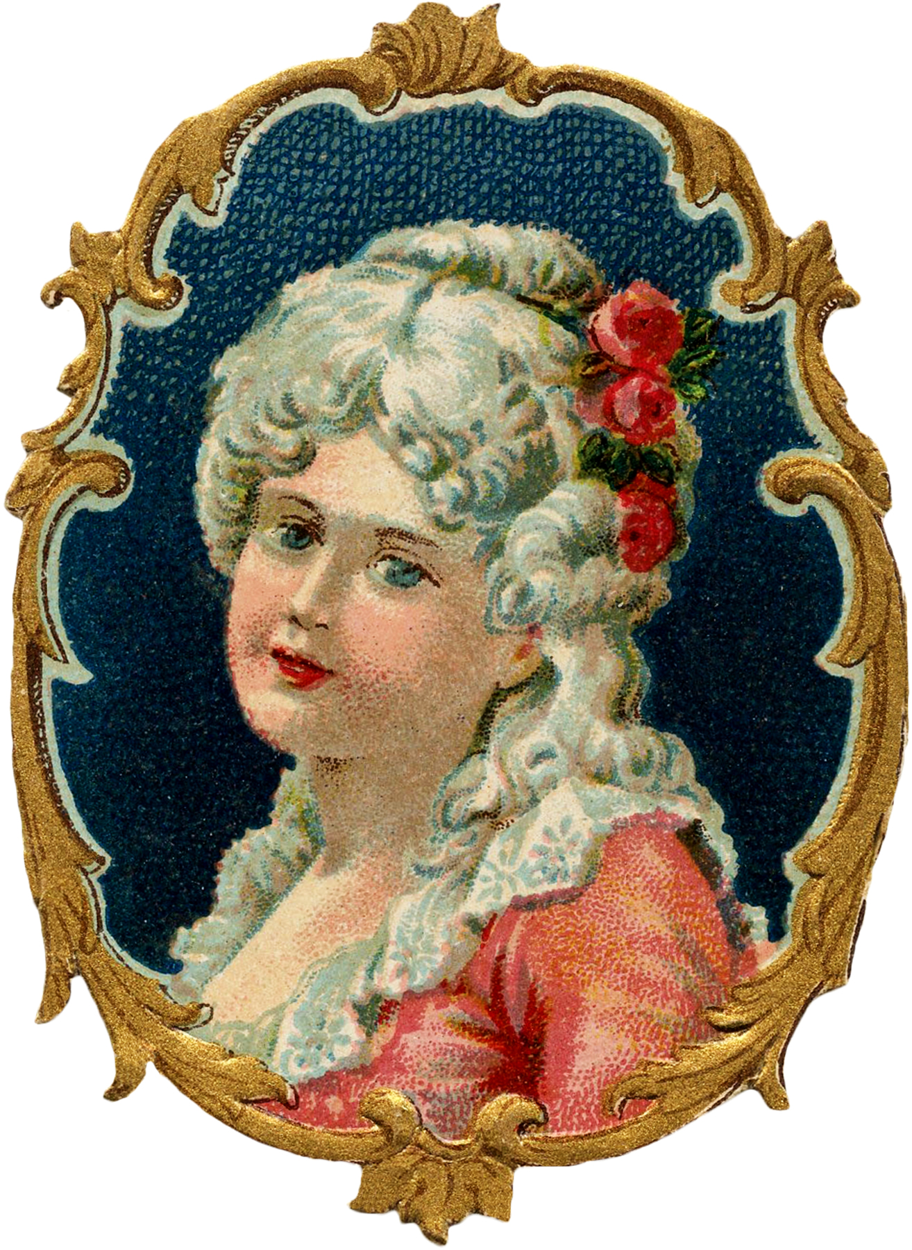 The Graphics Fairy: Pretty Colonial Girl Image!