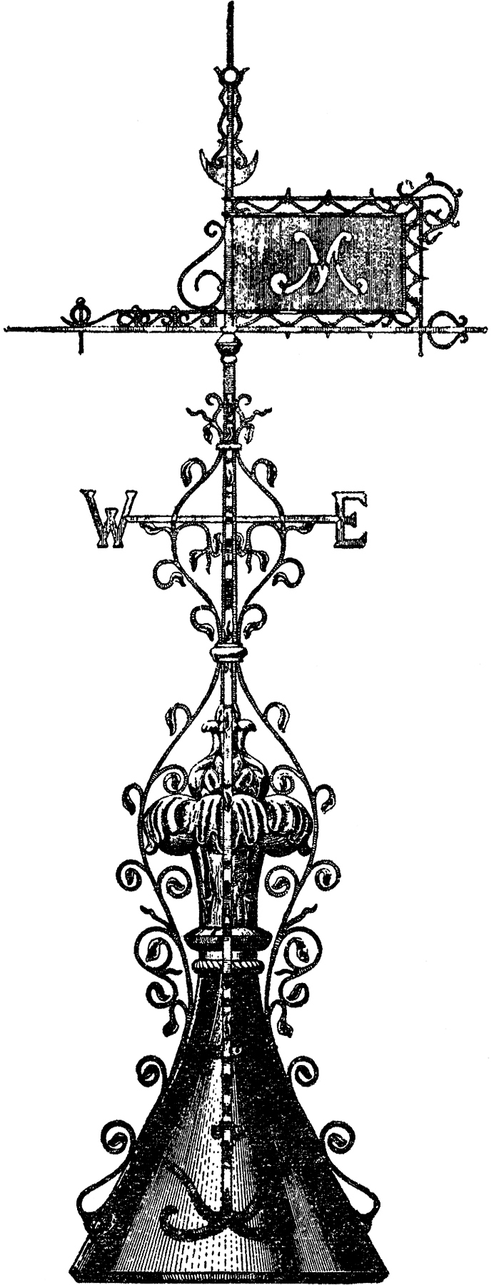 Fancy Weather Vane Image
