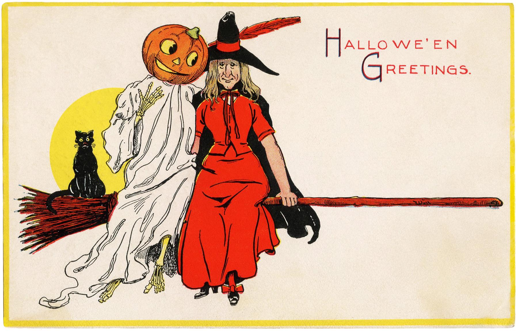Halloween Pumpkin Head Skeleton Image