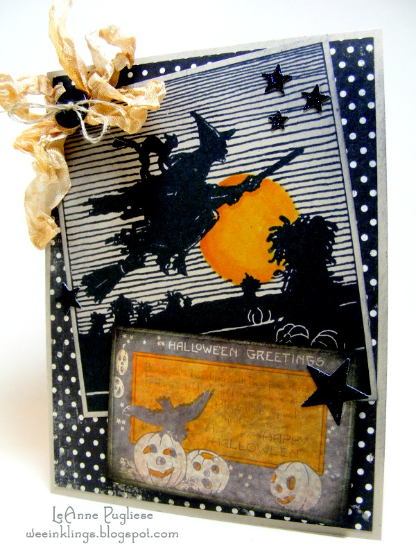 DIY Witch Halloween Card – Reader Feature