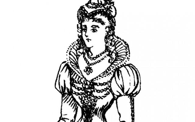 Medieval Lady Costume Image!