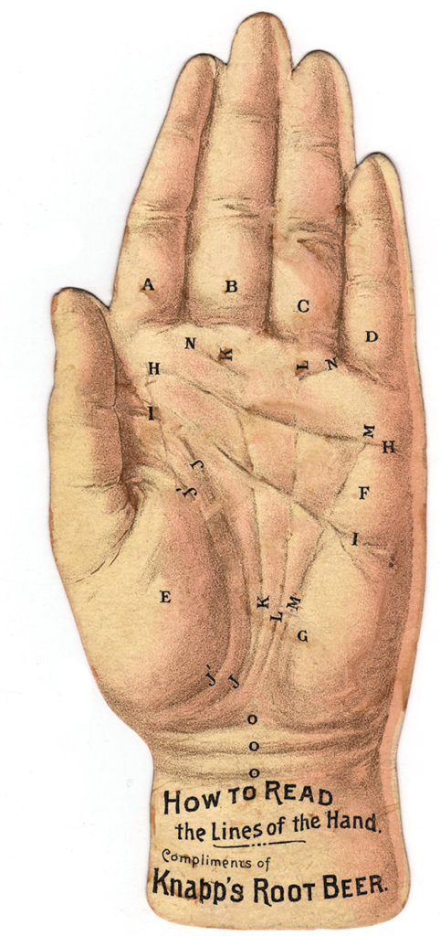 Palmistry Hand Image