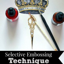 Selective Embossing Technique