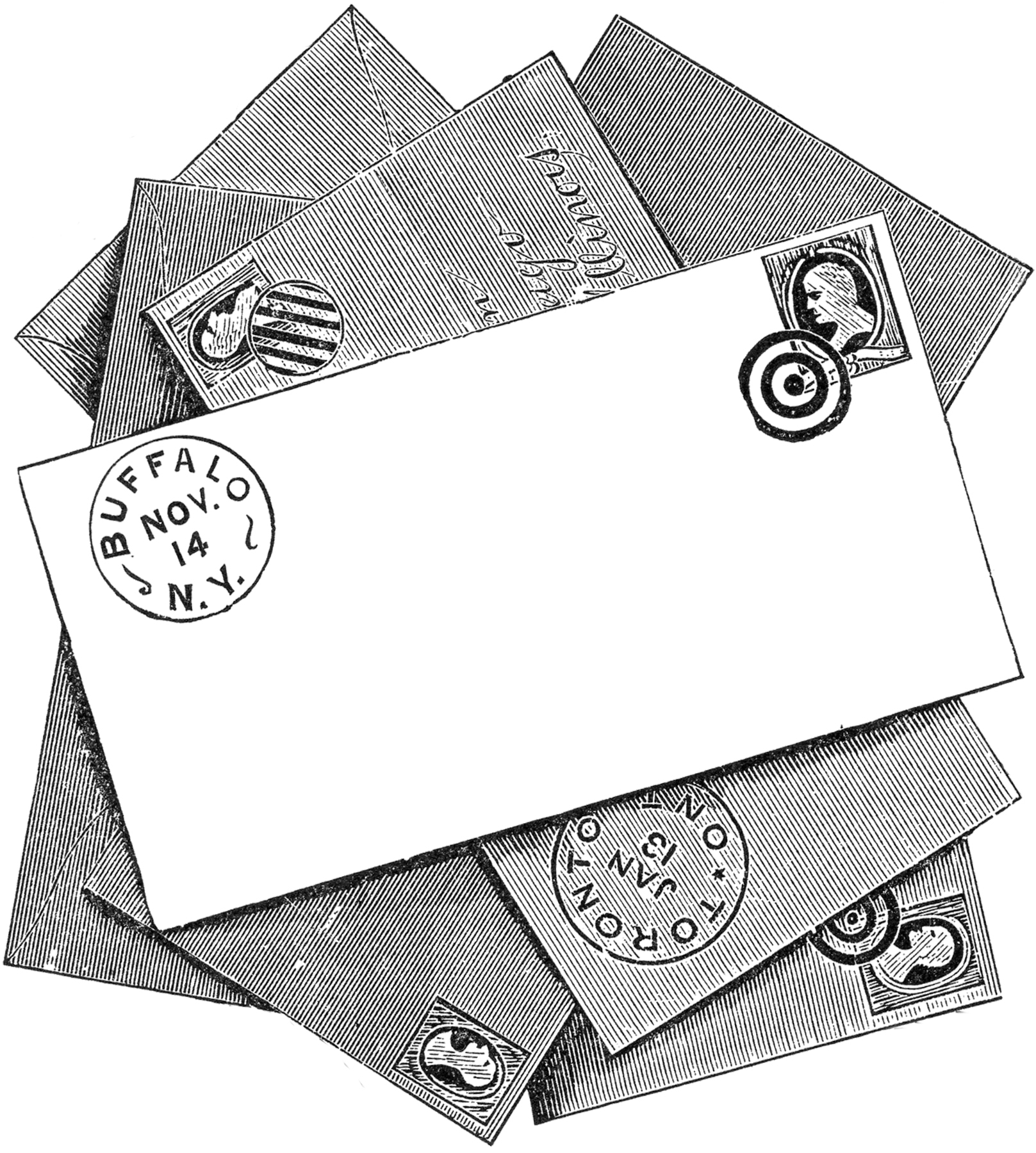 Stock Envelopes Image