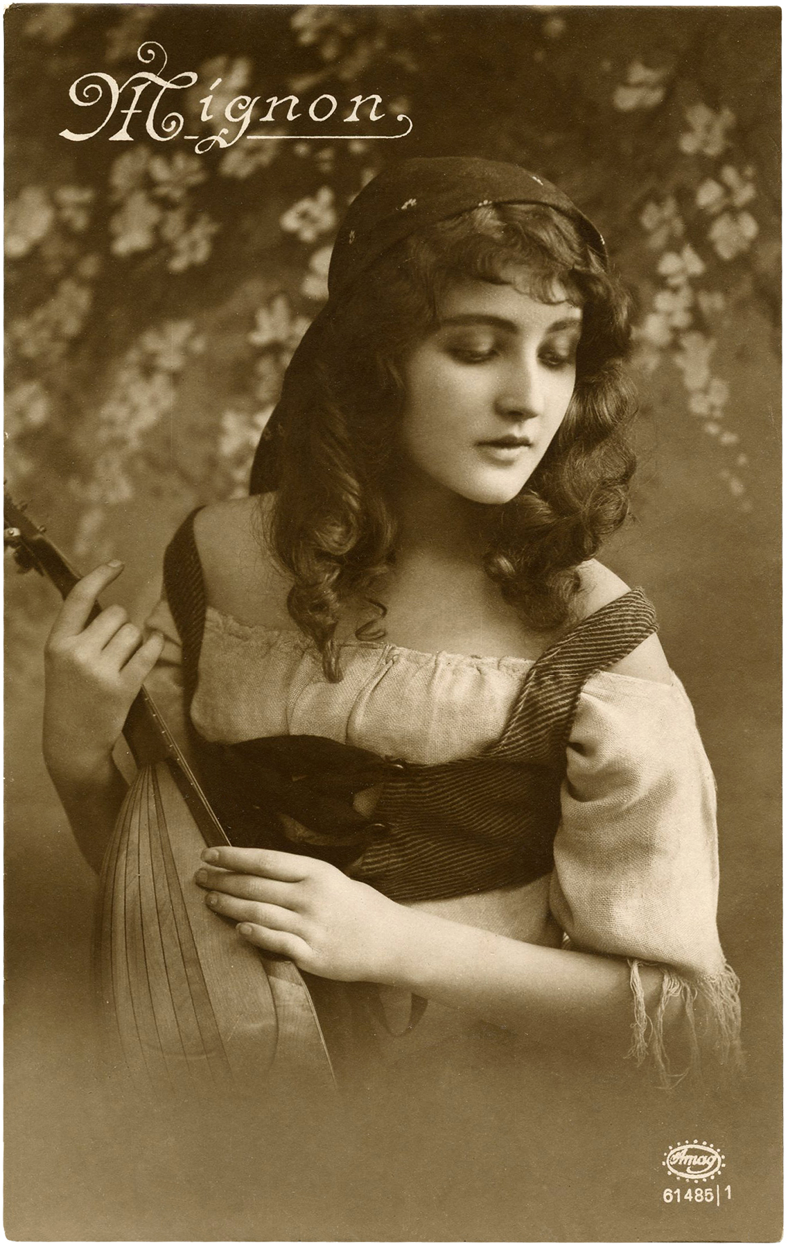gypsy postcard lady bohemian postcards fairy stunning graphics gorgeous thegraphicsfairy beauty antique mignon romantic