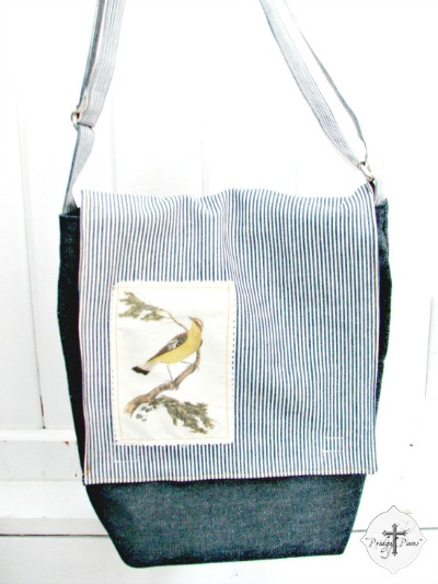 08 - Prodigal Pieces - Bird Messenger Bag
