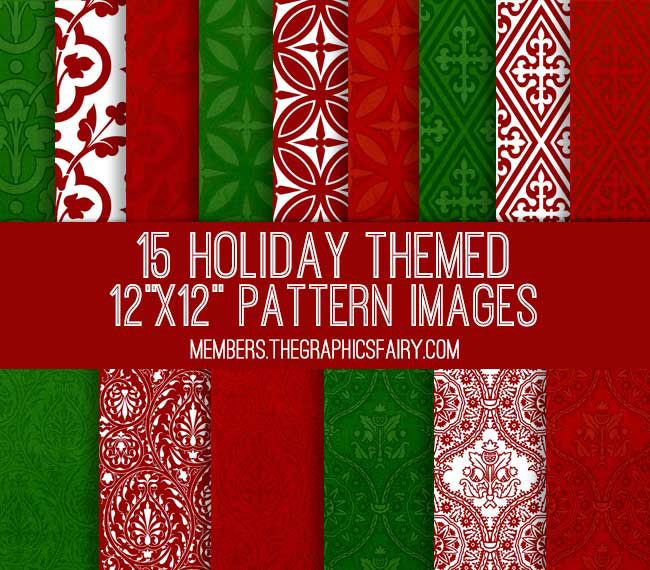 Printable Holiday Papers