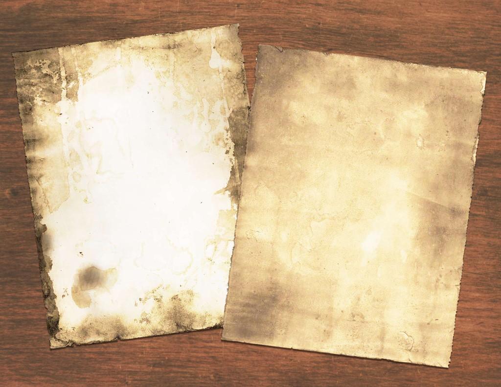 Ancient Parchment Technique - Easy! - The Graphics Fairy