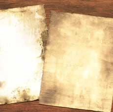 Ancient Parchment Technique – Easy!