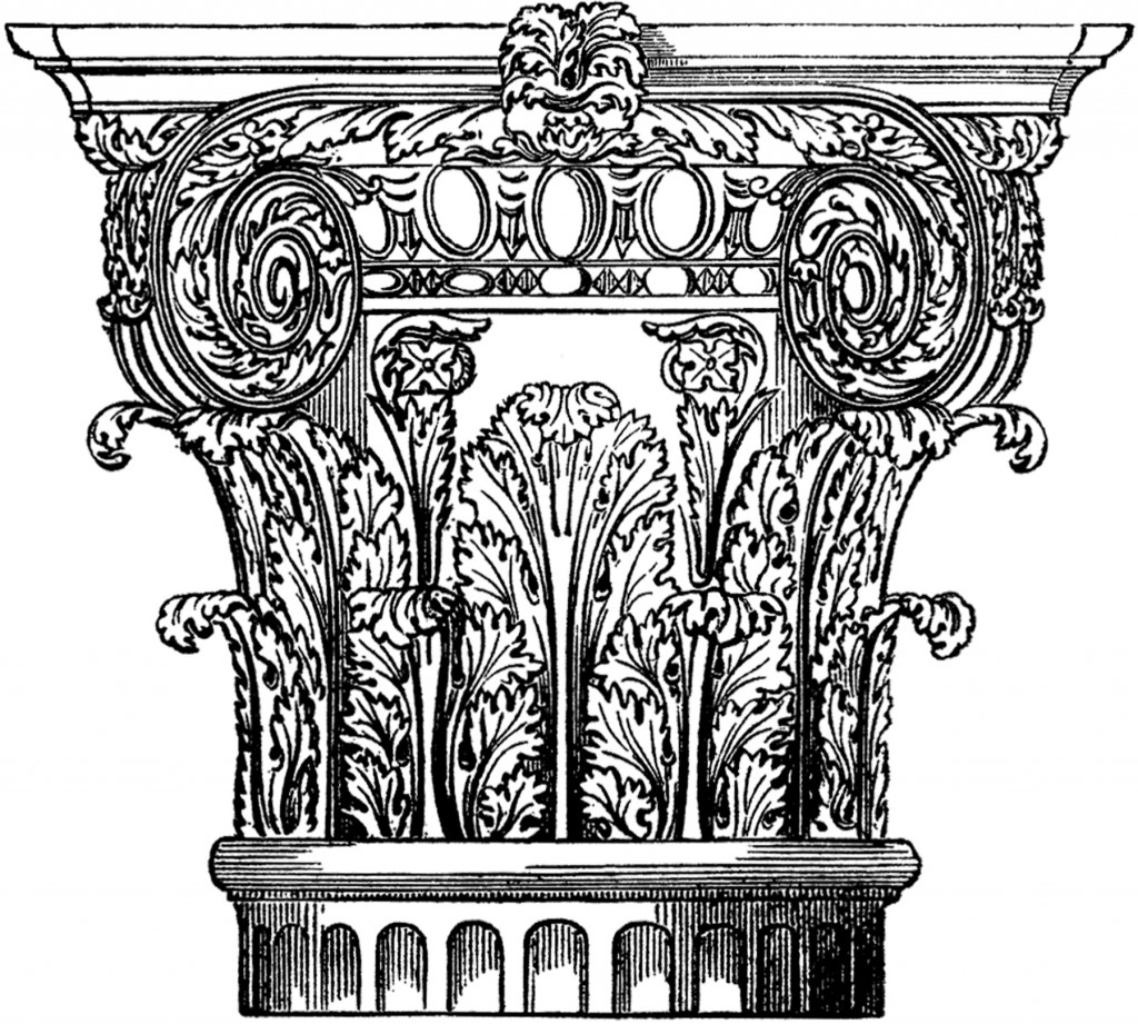 Architectural Column Image