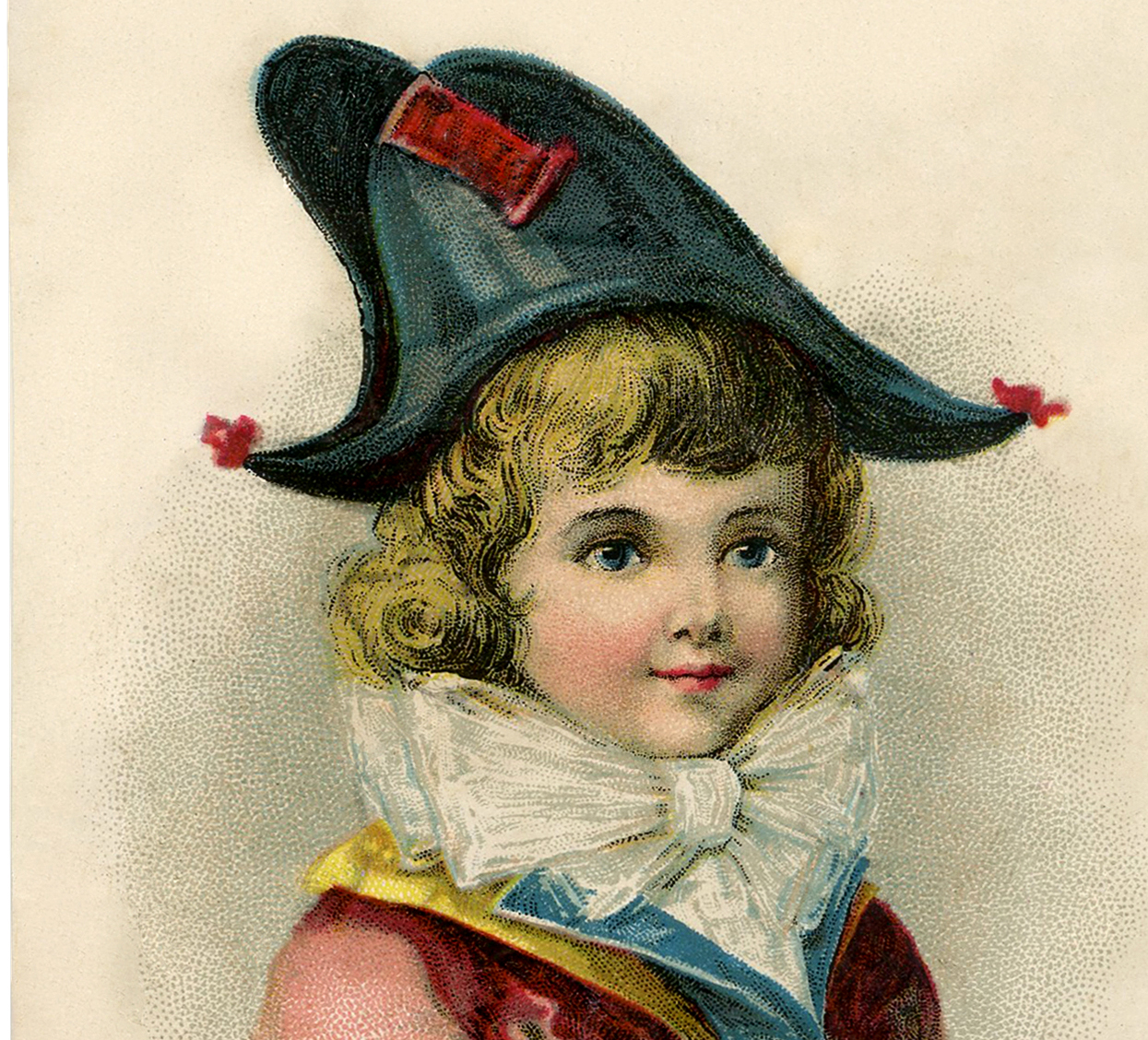 Bicorn Hat: Darling Bicorne Hat Boy Image!