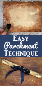 Easy Ancient Parchment Technique