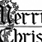 Merry Christmas Typography Image – Beautiful Lettering!