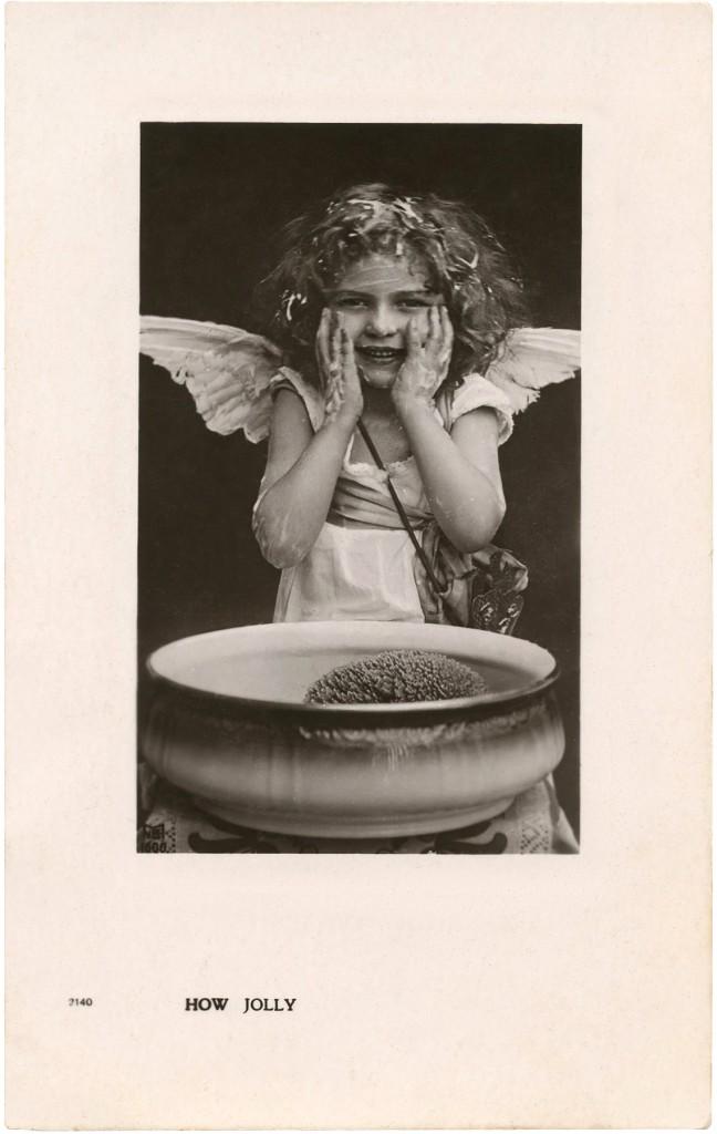 Messy Angel Photo Image
