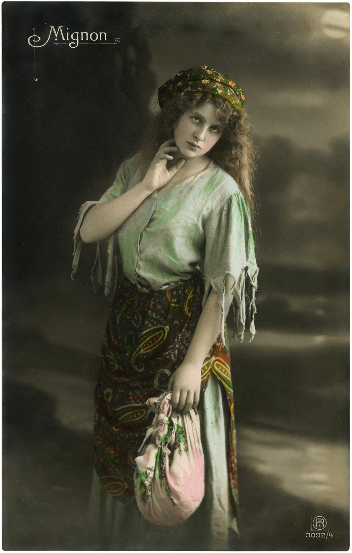 Pretty Gypsy Lady Image