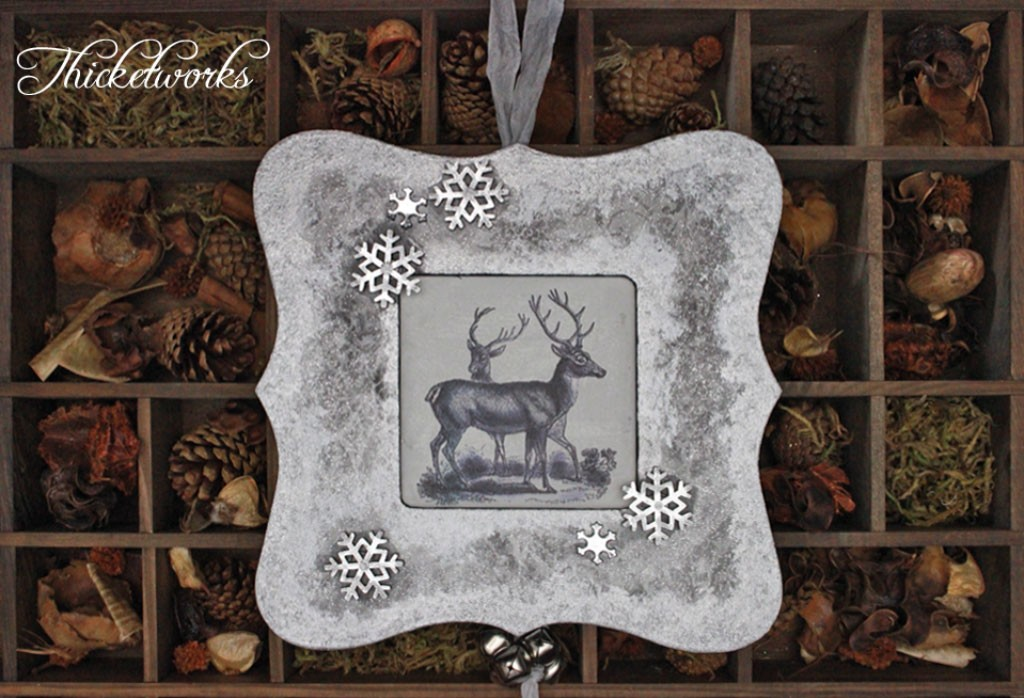 Simple-and-Quick-Vintage-Deer-Ornament-Final-Thicketworks