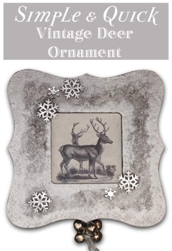 Simple-and-Quick-Vintage-Deer-Ornament-Thicketworks
