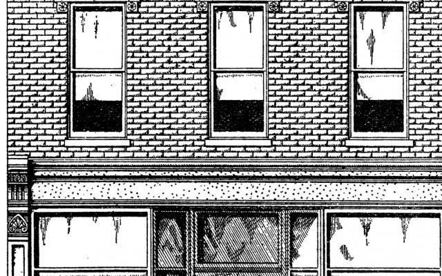 Vintage Brick Store Front Image – Nostalgic!