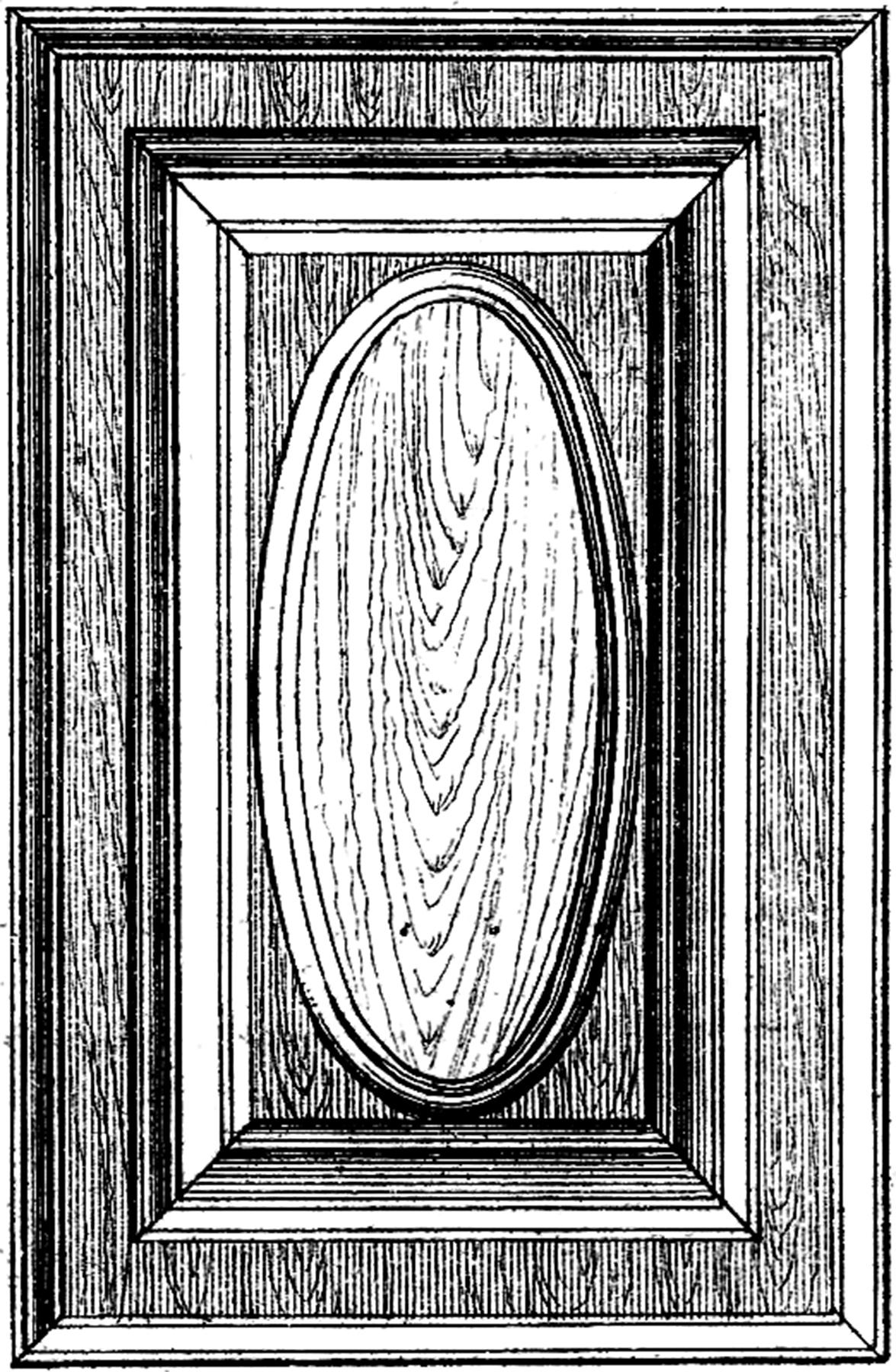 Antique Wood Paneling: 3 Vintage Wood Grain Panel Images!