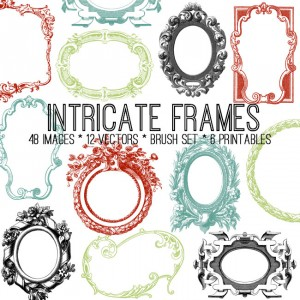 Intricate Frames Bundle