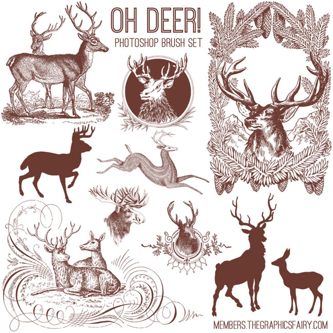 oh_deer_brushes_graphicsfairy