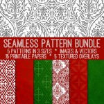 Holiday Seamless Pattern Bundle! TGF Premium
