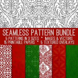 Holiday Seamless Pattern Bundle