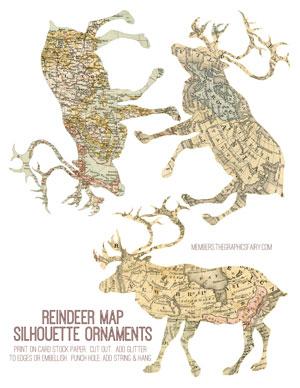 reindeer_map_ornament_graphicsfairy