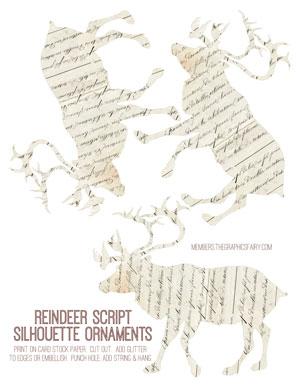 reindeer_script_ornament_graphicsfairy