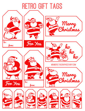 retro_santa_tags_graphicsfairy